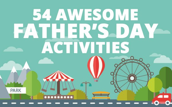 54 Fathers Day Activities Header