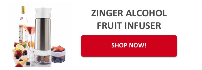 Zinger Alcohol Infuser Call to Action