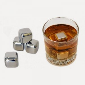 Stainless Steel Whiskey Rocks - Set of 8 - groomsmen gifts