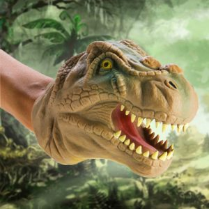 T-Rex Hand Puppet - Gifts For 7 Year Old Boys
