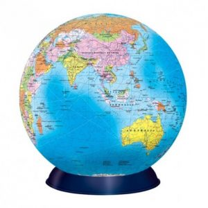 3D Globe Jigsaw Puzzle - 540 pcs - Gifts For Travellers