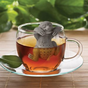 Slow Brew Sloth Tea Strainer & Infuser | Fred - Gifts For Sister