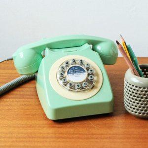 1960s Retro Style Desk Telephone Series 746 | Wild & Wolf - 70th Birthday Gift Ideas