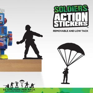 Soldier Wall Stickers - Gifts For 9 Year Old Boys