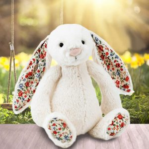 Jellycat Blossom Bashful Bunny - Cream - Gifts For 1 Year Old