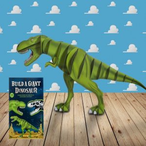 Build A Giant Dinosaur - Fit Together Puzzle Pieces - Gifts For 7 Year Old Boys