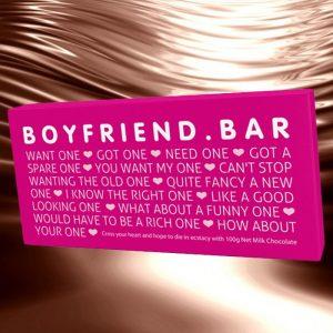 Chocolate Boyfriend Bar - Gifts For Teenagers