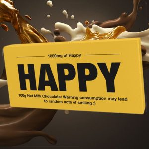 Happy Chocolate Bar - Gifts For Sister