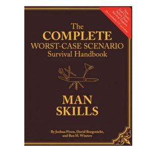 Man Skills: The Complete Worst-Case Scenario Survival Handbook - Gifts For Travellers