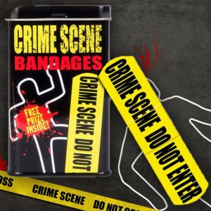 Crime Scene Adhesive Bandages - Gifts For 9 Year Old Boys