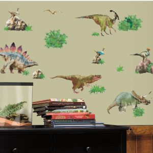 Dinosaurs – Removable & Reusable Wall Stickers - Gifts For 3 year Old Boys