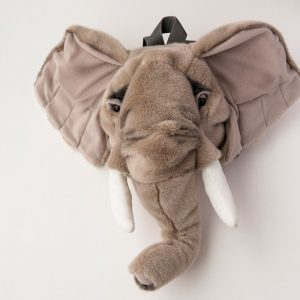 Wild & Soft Elephant Plush Backpack - Gifts For 7 Year Old Boys