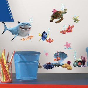Finding Nemo – Removable & Reusable Wall Stickers - Gifts For 1 Year Old