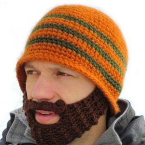 Knitted Beard Beanie - Gifts For Travellers
