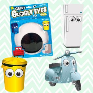 Googly Stick On Eyes - Gifts For Couples