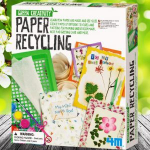 DIY Paper Recycling Kit - presents for 8 year old girls