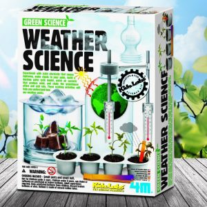 Weather Science Experiments Kit | 4M - presents for 8 year old girls