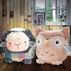 Huggable Hugglo Animal Night Lights - Gifts For 1 Year Old