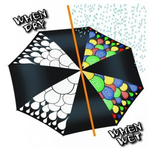 Colour Changing Umbrella - Gifts For Travellers