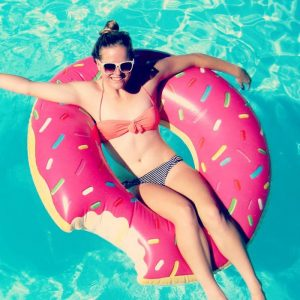 Giant Inflatable Donut - Gift Ideas For Your Girlfriend