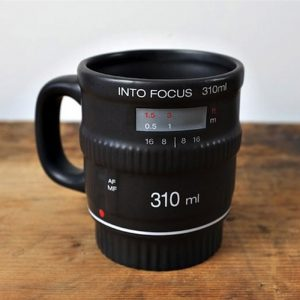 Into Focus Camera Zoom Lens Mug - Gifts For Travellers