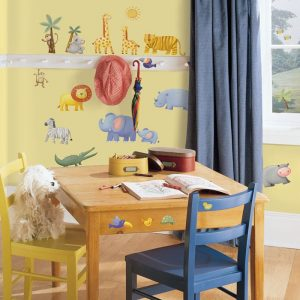 Jungle Adventure – Removable & Reusable Wall Stickers - Gifts For 9 Year Old Boys