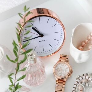 Karlsson Tabletop Copper Alarm Clock - Gift Ideas For Your Girlfriend