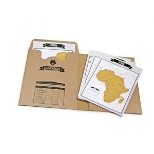 Travelogue World Travel Journal   Luckies - Gifts For Travellers