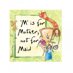 """""""M"""" is For Mother, Not For Maid Book - Gifts Under $10"""