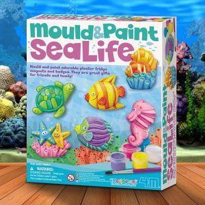 Mould And Paint Sea Life Kit - Gifts For 7 Year Old Boys