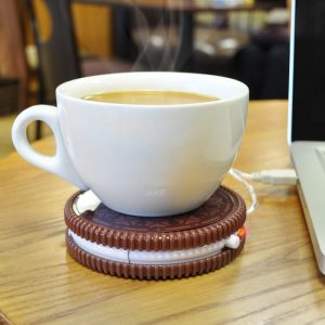 Hot Cookie - USB Coffee Cup Warmer - 70th Birthday Gift Ideas