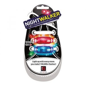 Night Walker Flashing Shoelace Lights - Gifts For 7 Year Old Boys