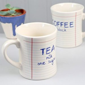 Just How You Like It Notebook Mugs - Gifts Under $10