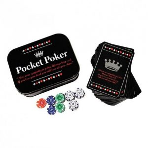 Travel Poker Set - Gifts For Travellers