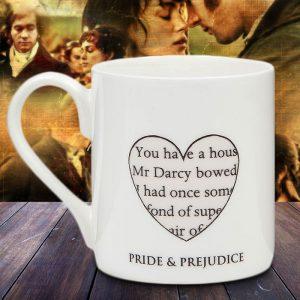 Pride & Prejudice Mug - Gift Ideas For Your Girlfriend