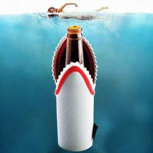 Shark Stubby Holder - Gifts Under $10