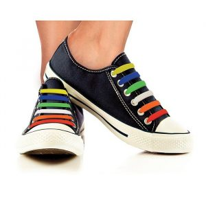 Slip On Silicone Shoelaces - Gifts Under $10