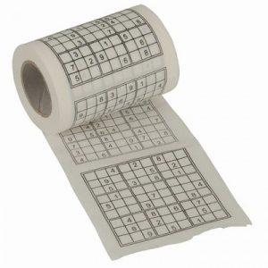 Sudoku Toilet Paper - 70th Birthday Gift Ideas