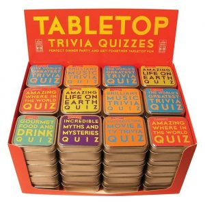 Tabletop Trivia Quiz Card Games - Gifts Under $10