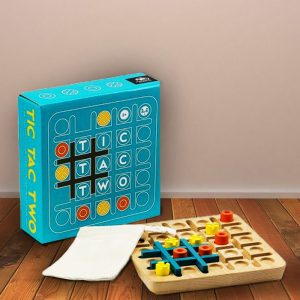 Tic Tac Two Game - Gifts For 9 Year Old Boys