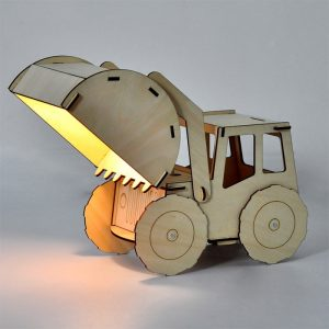 Timber Lamp - Gifts For 8 Year Old Boys