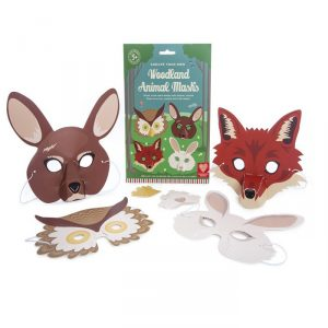 Woodland Animals 3D Masks - Gifts For 3 year Old Boys