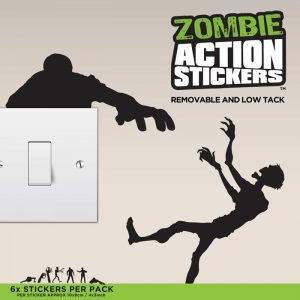 Zombie Wall Stickers - Gifts Under $10