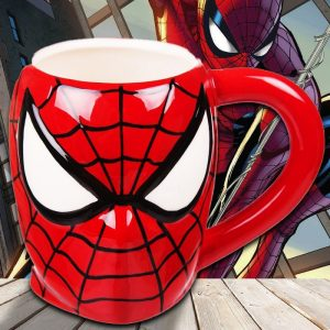 3D Spider-Man Head Mug - Gifts For 9 Year Old Boys