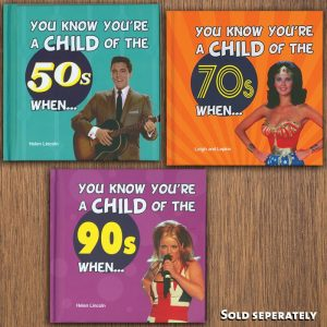 You Know You're A Child Of The Last Decade Books - Gifts For Sister