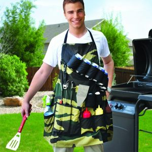 Barbecue Apron - The Grill Sergeant - groomsmen gifts