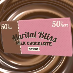 Marital Bliss Chocolate - Gifts For Couples