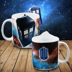 Doctor Who Tardis Sculpted Ceramic Mug - 80th Birthday Present Ideas