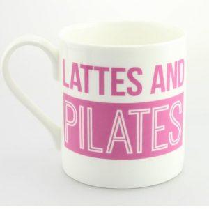 Lattes And Pilates Mug - gifts for bridesmaids