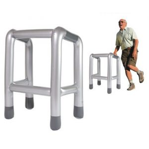 The Zimmer Inflatable Walking Frame - 80th Birthday Present Ideas